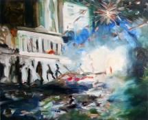 Last Night, 2013, oil/canvas, 26x32 inches