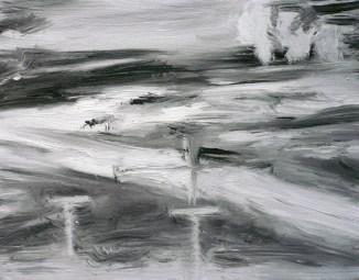 FLIR 2 (2011) 11x14 inches, oil on canvas