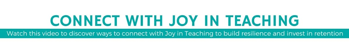 CONNECT with Joy in Teaching