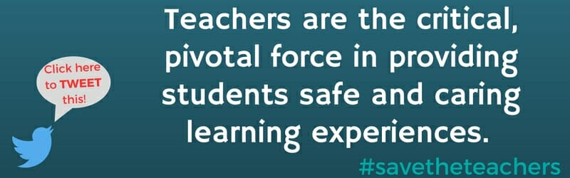 Teachers are the critical, pivotal force.