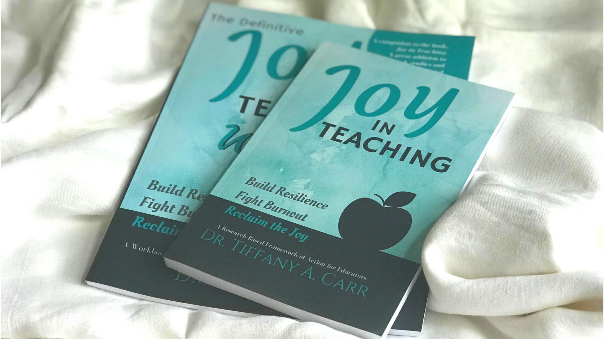 Joy in Teaching's Books