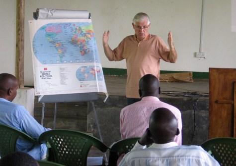 Guest facilitator Irving Whitt (2011).