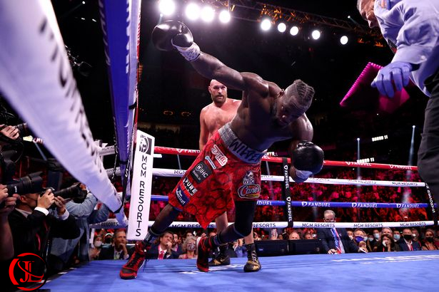 Tyson Fury Defeats Deontay Wilder In Thrilling Battle With 5 Knockdowns
