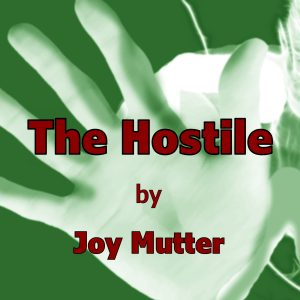 Hostile test cover audiobook (hand)