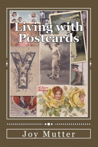 Living with Postcards book cover