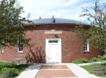 "1915 Dexter Community Building, also known as the ""Roundhouse"""