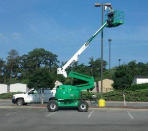 Electrician   Pole Light Repair