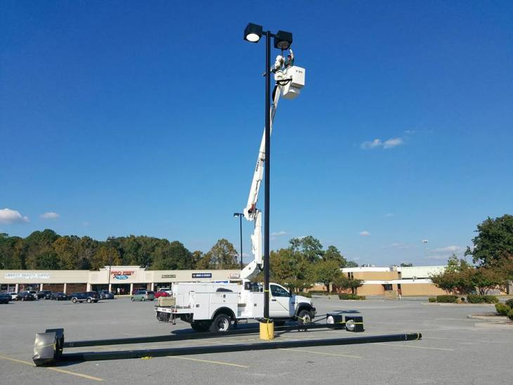 Parking Lot Lighting Maintenance and Repair