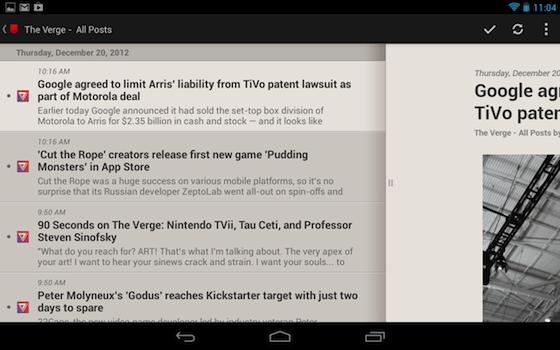 Pressione Android