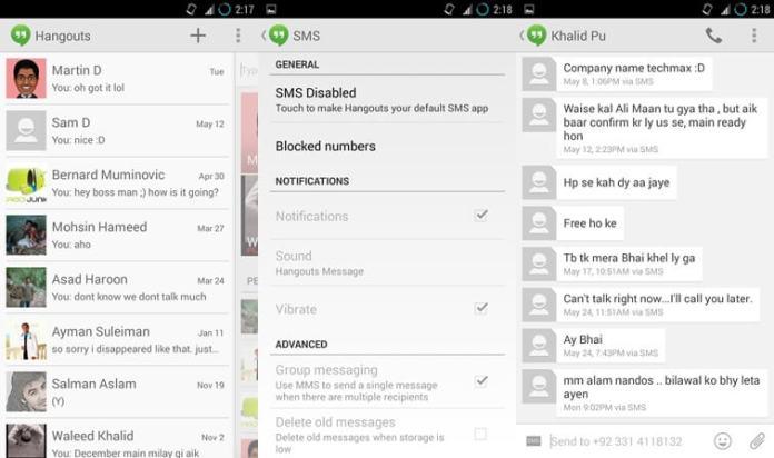 Os 10 melhores aplicativos de SMS para Android