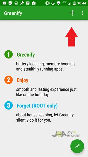 4. Greenify