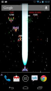 Space Shooter Live Wallpaper