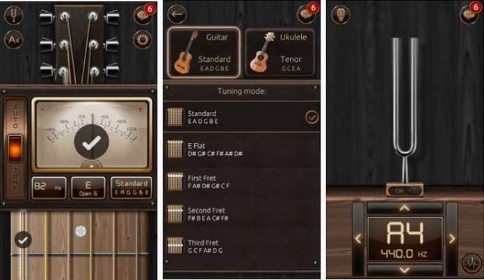 Afinador de guitarra cromática grátis