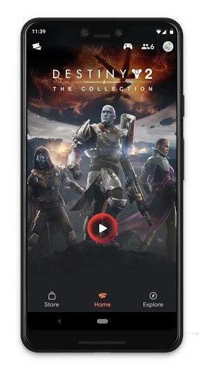 Jogue Destiny 2 no Android com o Google Stadia Cloud Gaming para Android