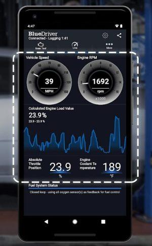 Melhores aplicativos de diagnóstico de carro para Android - BlueDriver Data