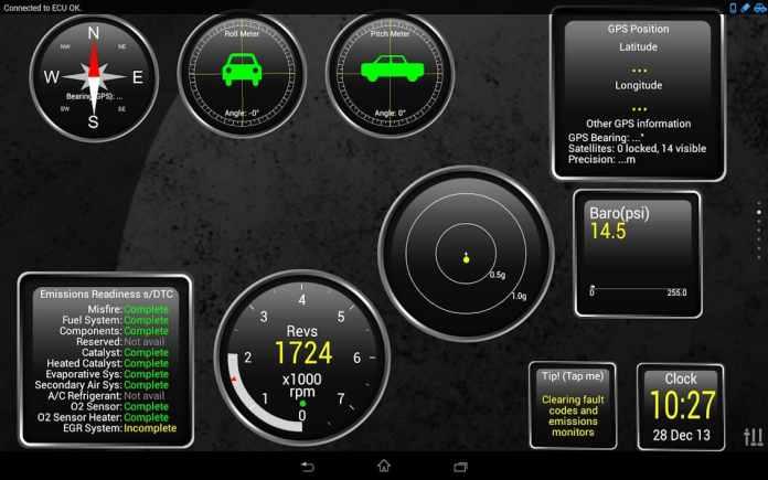Melhores aplicativos de diagnóstico de carro para Android - Torque Pro