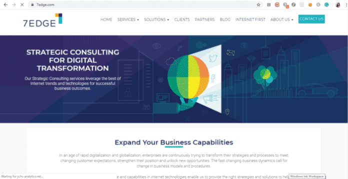 site de empresas de desenvolvimento de aplicativos 7EDGE