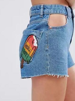 asos lolly shorts