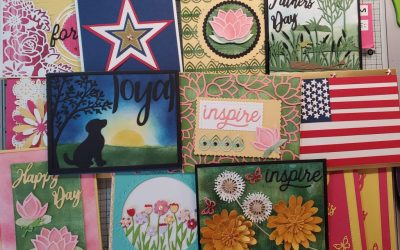 May 2020 Online Card Class Joy of Cards with Free Monthly Prizes