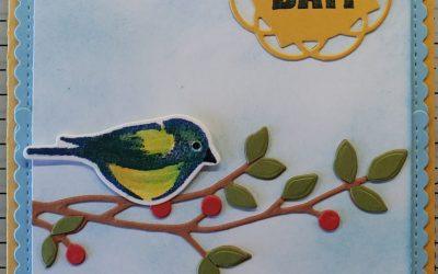 Birthday Birds & Branches Card – Stampin' Up!