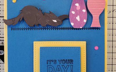 Playful Pets Birthday Card