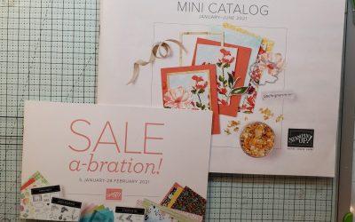 2021 Mini Stampin Up Catalog – Free Curvy Christmas Stamp Set