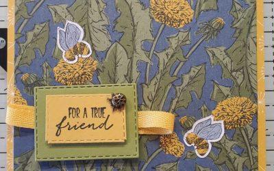 Sneak Peek Dragonfly Garden Stampin Up