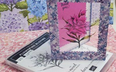Laminated Flowering Blooms Stampin Up