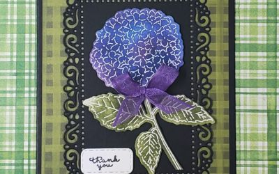 Hydrangea Haven Thank You Card Stampin Up