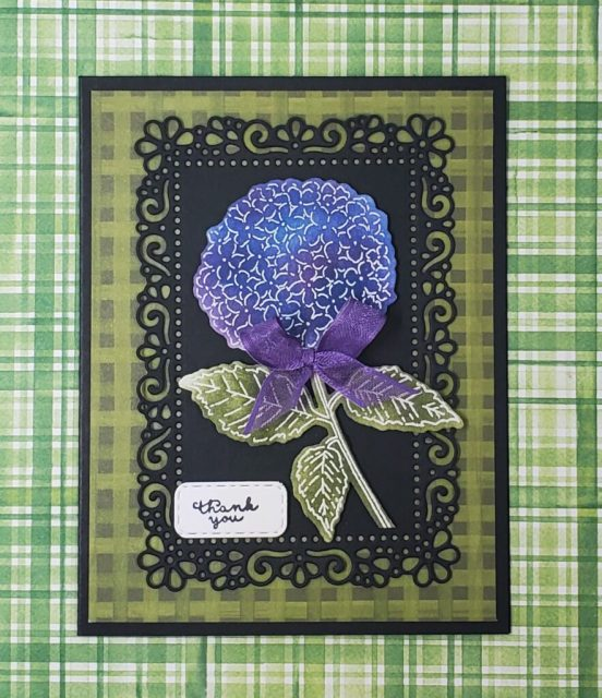 Hydrangea Haven Thank You Card