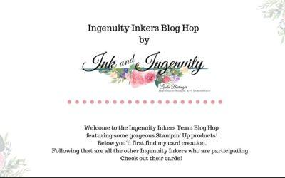 Hydrangea Haven Blog Hop #stampinup #bloghop #hydrangeahaven #cards