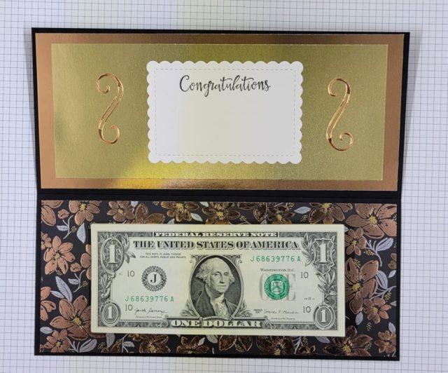 Graduation Money Pad Stampin Up Card