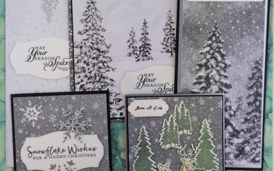 Peaceful Place Easy Christmas Cards