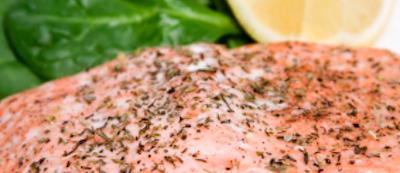 Poached Salmon • Joy of Food • kosher lunch
