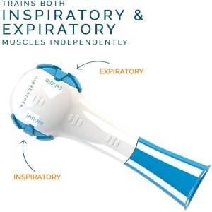Breathing device that trains both Inspiratory and Expiratory Muscles Indepently