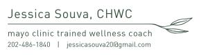 Jessica Souva, CHWC, Mayo Clinic trained Wellness Coach, Logo