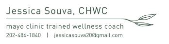Jessica Souva Wellness coach logo