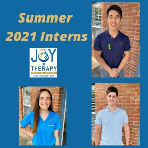 Summer 2021 Interns