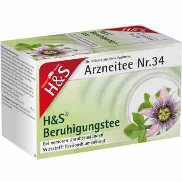 H&S 緩解神經保健茶Nr.34  (20小包)