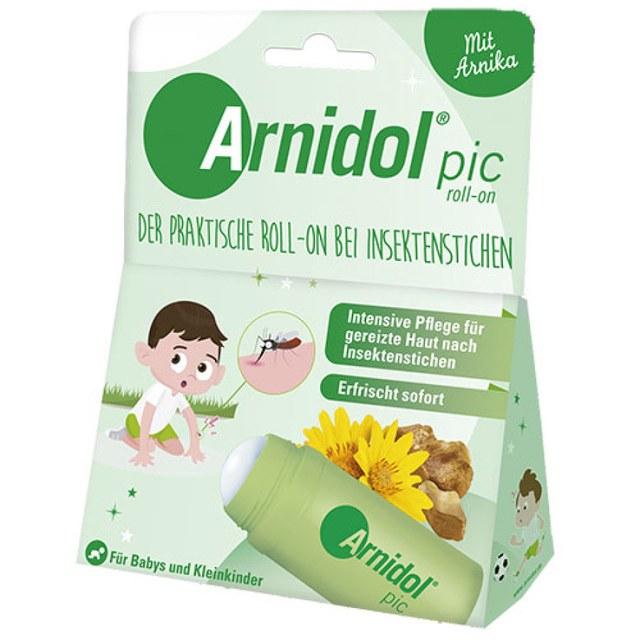 Arnidol pic Roll-on 30g 昆蟲叮咬緩解瘙癢,滾珠設計方便塗抹