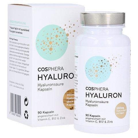 Cosphera Hyaluronsäure Kapseln 玻尿酸透明質酸90 入100%素食 美容 抗老 抗皱