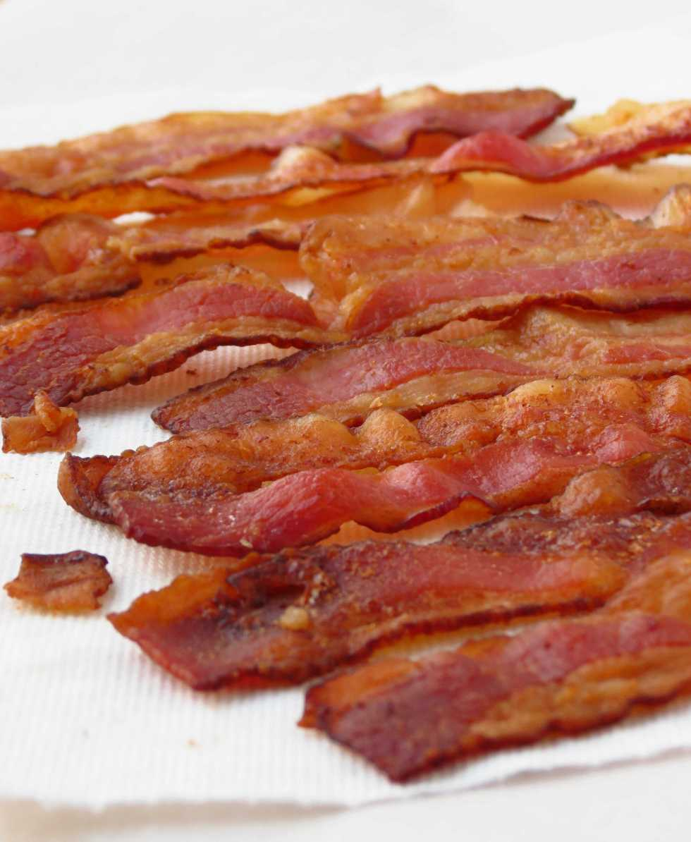 Bacon for Breakfast Tacos
