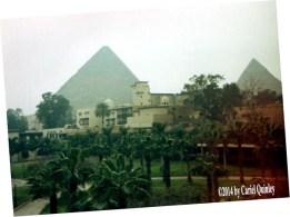 The Pyramids  - Mena House Hotel