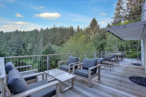 Caring Cabin - New Deck Furniture