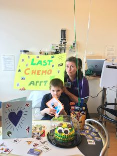 Mason and Eileen - Chemo Pal Match