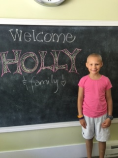 Caring Cabin - Holly - Family Visits