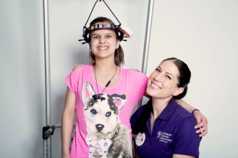 CCA Hero Emily and Chemo Pal