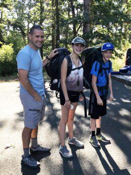 Elijah Backpacking
