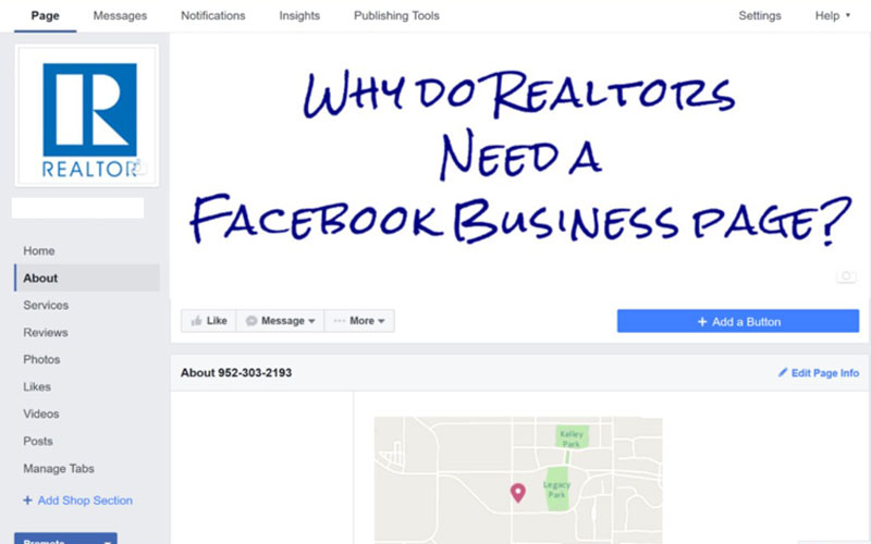 Why Do Realtors Need A Facebook Business Page?