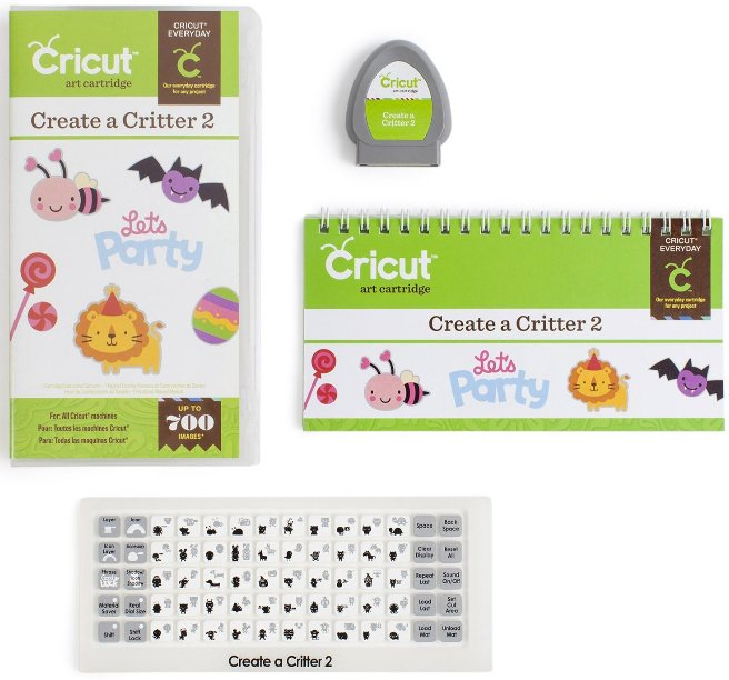 Cricut Create a Critter 2 cartridge